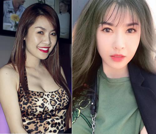 Những sao Việt có màn lột xác ngoại hình ngoạn mục nhất 2017 - page 2 - 4