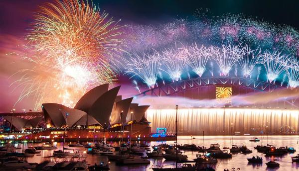 Sydney (Australia) không phải lả địa điểm đón năm mới sớm nhất thế giới như nhiều người vẫn nghĩ.