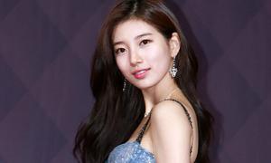 Suzy khoe vẻ đẹp nữ thần trên thảm đỏ SBS Drama Awards