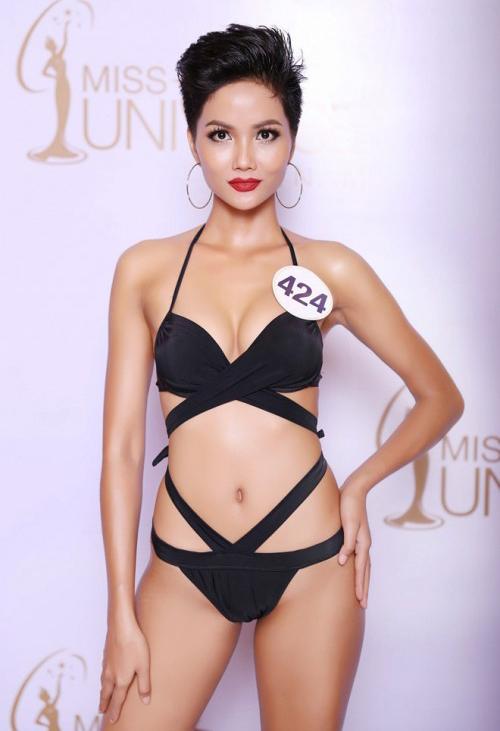 Vẻ đẹp nóng bỏng của Hoa hậu Hoàn vũ Việt Nam HHen Niê - 3