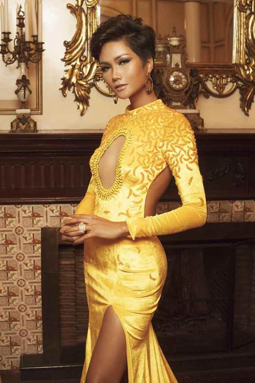 Vẻ đẹp nóng bỏng của Hoa hậu Hoàn vũ Việt Nam HHen Niê - 1