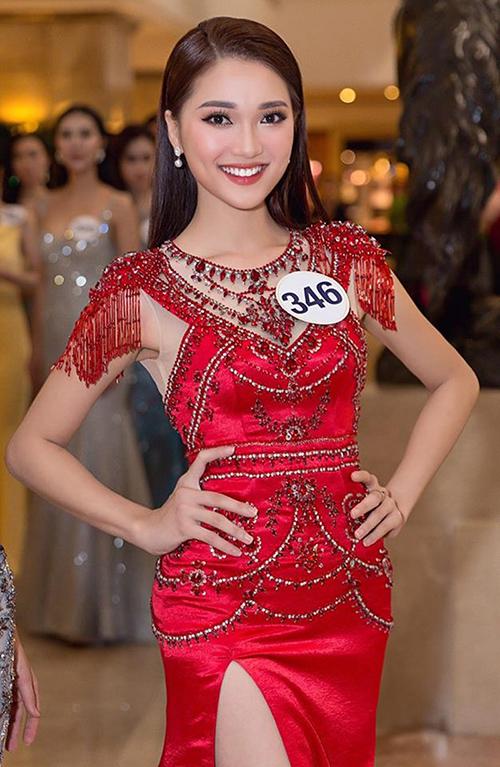 Ngọc Nữ - cô gái có gương mặt đẹp nhất Hoa hậu Hoàn vũ 2017 - 4