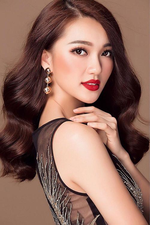 Ngọc Nữ - cô gái có gương mặt đẹp nhất Hoa hậu Hoàn vũ 2017 - 9