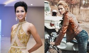 Hoa hậu H'Hen Niê thích xe phân khối lớn, mê bún mắm