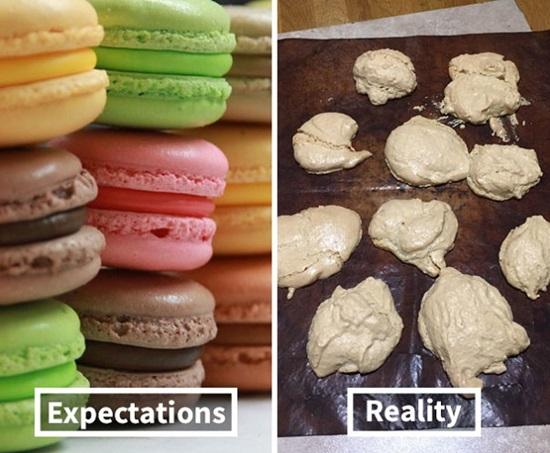 Macaron là đỉnh cao của nghệ thuật làm bánh quả không sai.