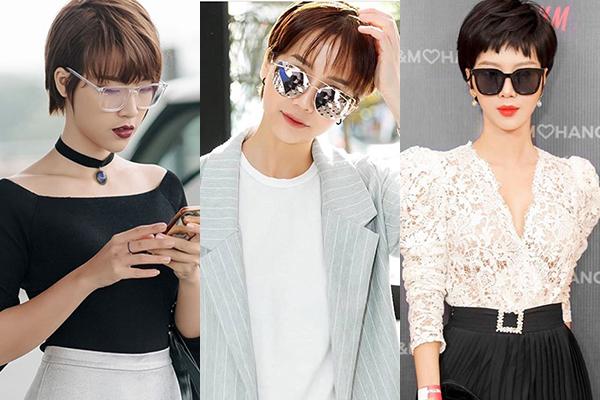 3 kiểu tóc ngắn siêu nịnh mặt hot nhất 2018 - 5