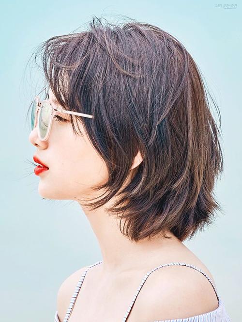 3 kiểu tóc ngắn siêu nịnh mặt hot nhất 2018 - 9