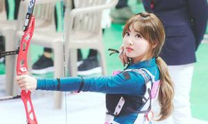 Irene, Tzuyu, Na Yeon cạnh tranh ngôi vị 'Nữ thần bắn cung'