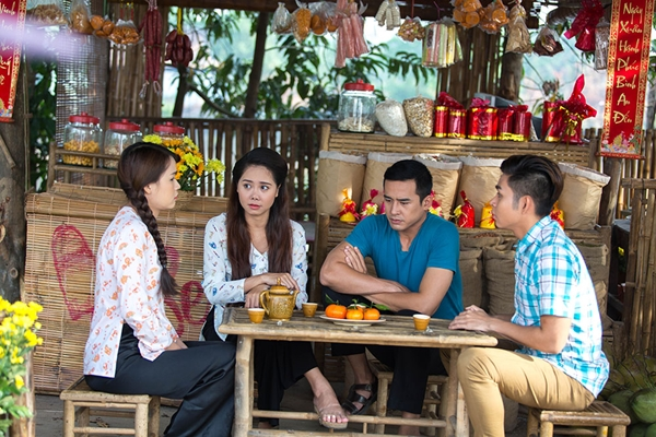 B Trần làm tình địch của Lương Thế Thành trong phim Tết - 5