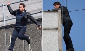 Giàu nhất Hollywood, Tom Cruise vẫn tự đóng các cảnh mạo hiểm tính mạng