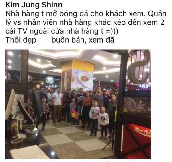 Những hình ảnh đẹp khó quên của CĐV Việt Nam trong trận đấu U23 Việt Nam - Iraq - 12