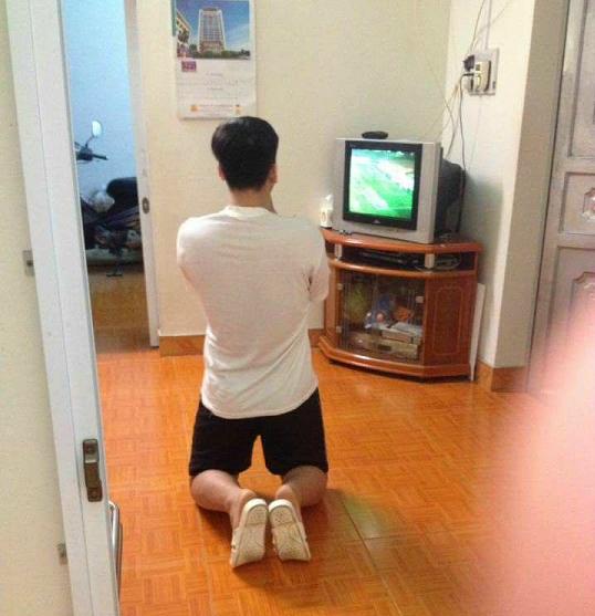 Những hình ảnh đẹp khó quên của CĐV Việt Nam trong trận đấu U23 Việt Nam - Iraq - 15