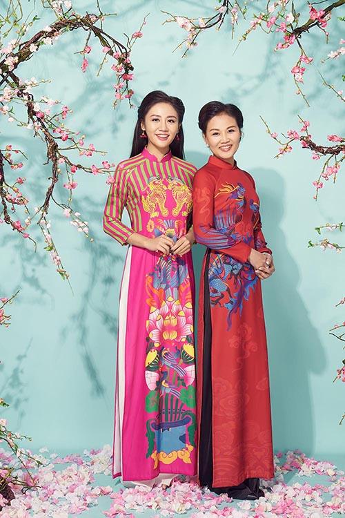 Văn Mai Hương khoe mẹ trẻ trung trong bộ ảnh đón Tết - 2