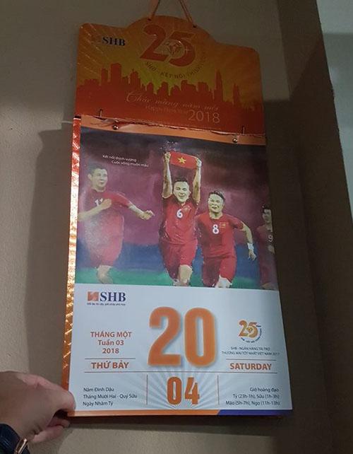 Tờ lịch tiên tri chiến thắng lịch sử của U23 Việt Nam