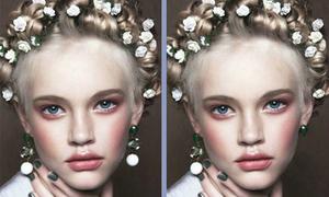 30 giây tìm ra điểm khác biệt khó nhận ra ở gái xinh