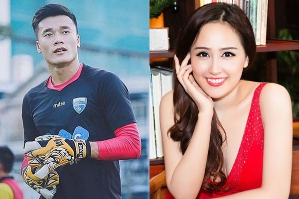 Cách xưng hô lạ lẫm của mỹ nhân Việt với thủ môn Bùi Tiến Dũng