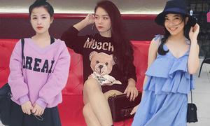 Phong cách khác biệt của bạn gái 3 hot boy U23 Việt Nam