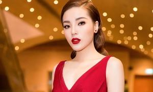 Kỳ Duyên đẹp rực rỡ chia sẻ độ 'cuồng' U23 Việt Nam