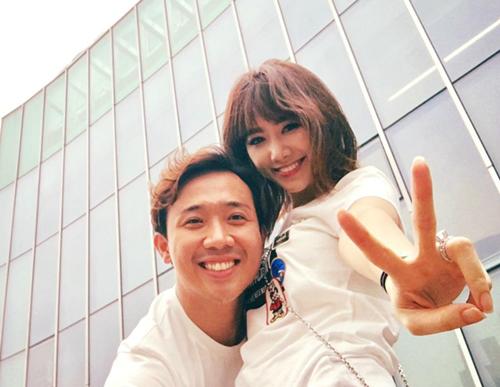 Trấn Thành - Hari Won chăm chỉ selfie chứng minh tướng phu thê là có thật - 4