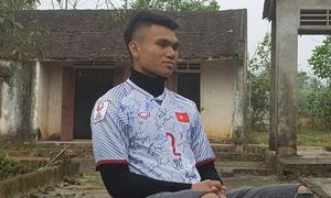 Ngôi nhà đơn sơ của hậu vệ U23 Phạm Xuân Mạnh