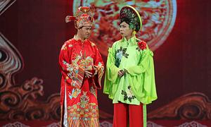 Táo quân 2018: 'Cô Đẩu' Công Lý bung lụa với trang phục như thi hoa hậu