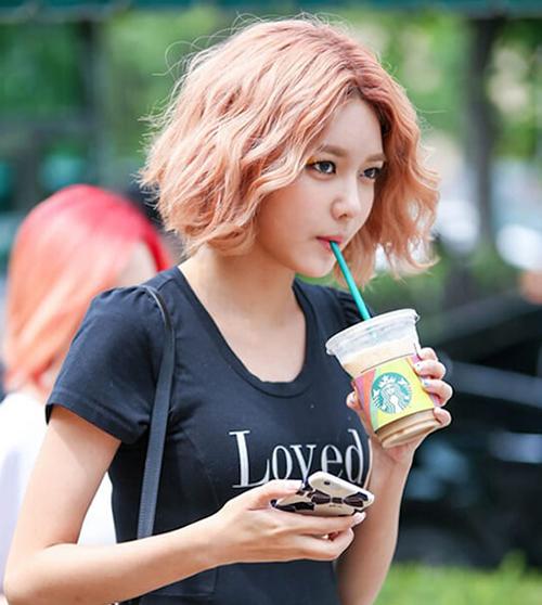 10 gợi ý cắt tóc ngắn cực xinh đón Tết giống các idol Hàn - 4