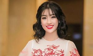 Hoa hậu Đỗ Mỹ Linh được khen ngợi khi đổi kiểu tóc