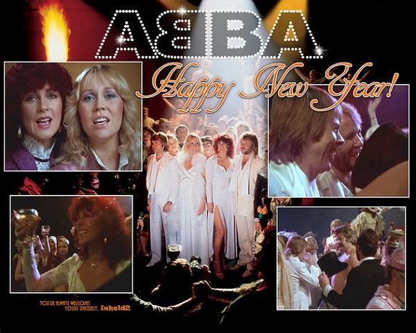Ca khúc Happy New Year của nhóm nhạc ABBA là món ăn tinh thần không thể thiếu trong mỗi dịp năm mới.
