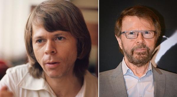 Bjorn Ulvaeus trong quá khứ và hiện tại.