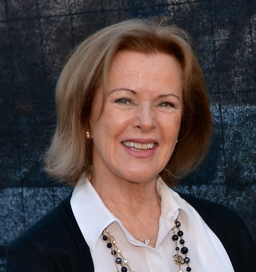 Hình ảnh có phần tiều tụy đi nhiều của Anni-Frid Lyngstad khi về già.