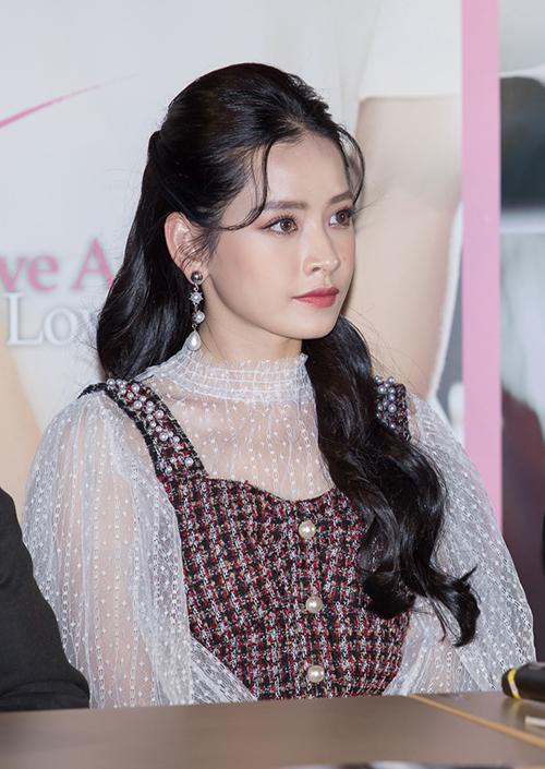 Chi Pu xinh đẹp thu hút truyền thông khi ra mắt phim tại Hàn Quốc - 4