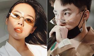 Mốt kính râm tin hin không che nổi mắt của sao Việt