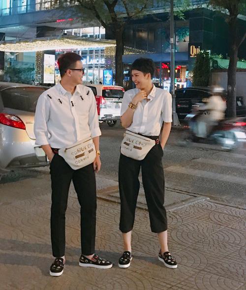 2 cặp đôi bạn thân hàng hiệu mới toe của Vbiz - 1