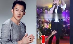 Dương Triệu Vũ bức xúc vì bị sàm sỡ trên sân khấu