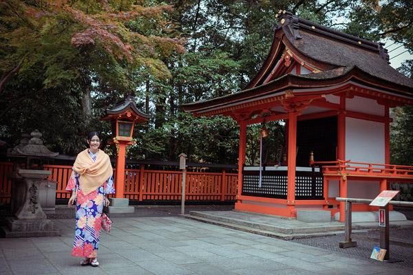 Á hậu cao nhất Việt Nam đẹp mong manh trong trang phục truyền thống Nhật Bản - 1