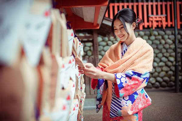 Á hậu cao nhất Việt Nam đẹp mong manh trong trang phục truyền thống Nhật Bản - 5