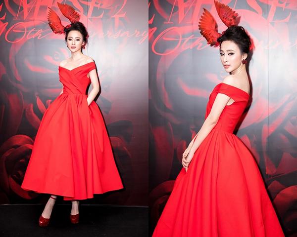 Kiểu váy bất hủ mỹ nhân Việt diện 5 năm nay vẫn không chán - 1