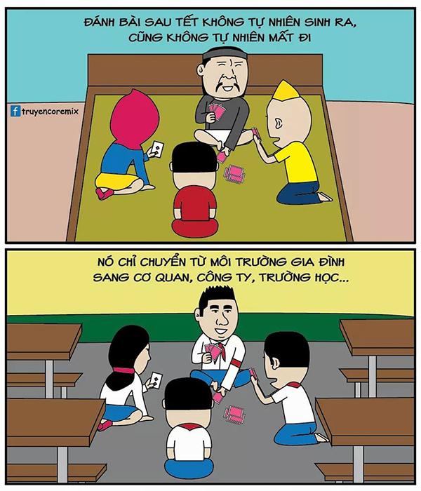 Bộ ảnh cực kỳ hài hước về ngày đi học lại sau tết