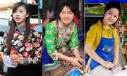 4 thiếu nữ bán hàng rong nổi tiếng sau ảnh chụp lén