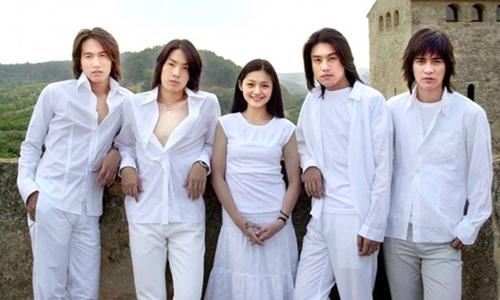 Các diễn viên chính trong Vườn Sao Băng phiên bản Đài Loan.