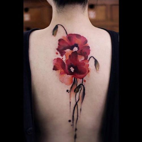 Những hình xăm đẹp như vẽ tranh thủy mặc lên cơ thể - 5
