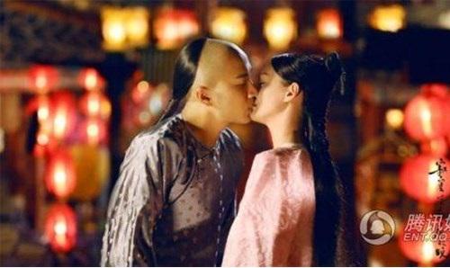 Những nụ hôn nhạt nhẽo nhất trong phim Hoa ngữ - 1