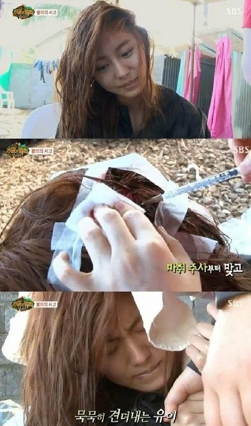 Những lần idol Hàn gặp sự cố nguy hiểm trong show thực tế - 5