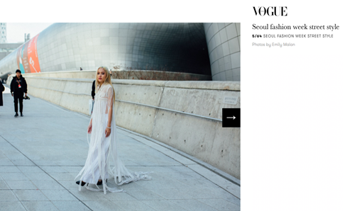 ''Ma nữ'' Fung La xuất hiện trên tạp chí Vogue