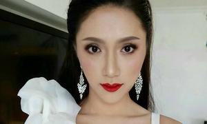Dung mạo gây bất ngờ của Hương Giang khi 'vào tay' chuyên gia makeup người Thái