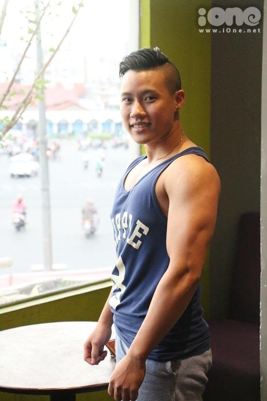 Những điều thú vị về anh thể hình Nguyễn Thị Trang - 1