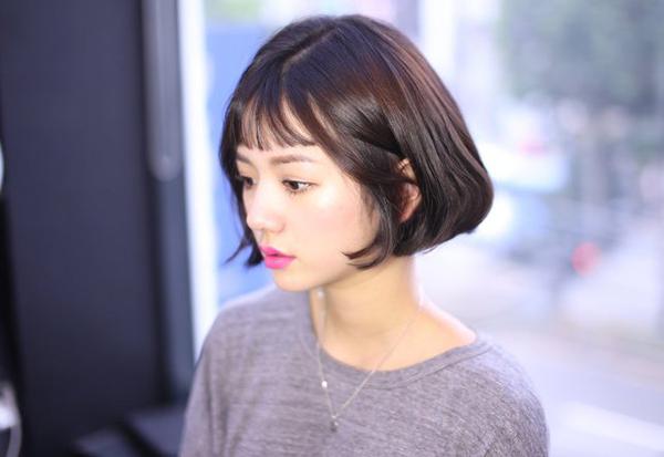 Tóc chữ C - mốt tóc nhận diện các cô gái Hàn sành điệu - 6