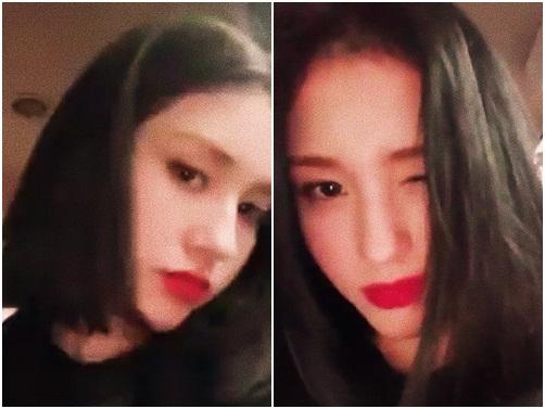 Somi khoe mái tóc mái trên Instagram. Fan đang mong chờ cô nàng debut cùng nhóm nữ mới của nhà JYP trong năm 2018.