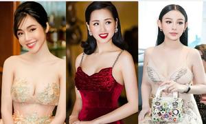 3 hot girl 'bỉm sữa' có vòng một nảy nở sexy hàng đầu Vbiz