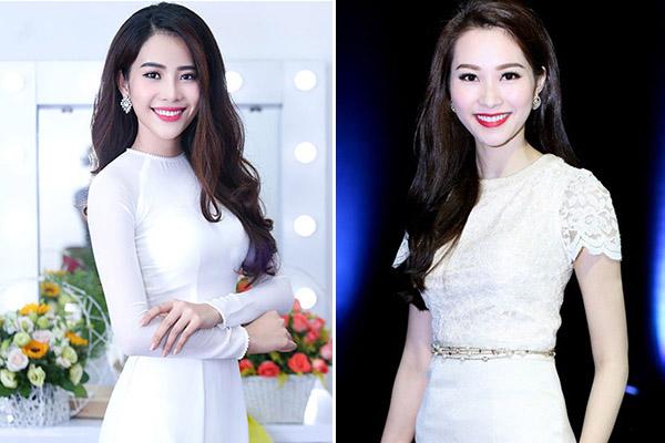 4 cặp mỹ nhân Việt chẳng họ hàng mà giống nhau như chị em - 8